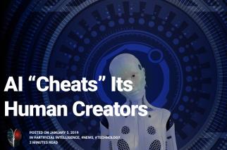 AI Cheats Its Human Creators